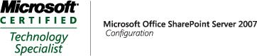 MOSS 2007,Configuration