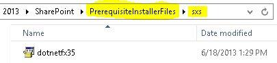 17 - AutoSPInstaller.SP.Preq.SXS.Folder